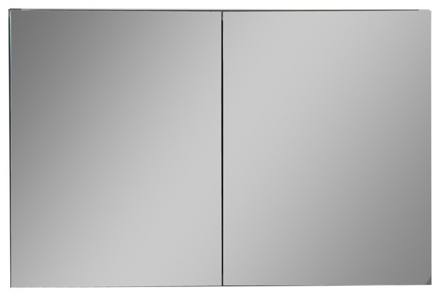 Confiant Mirrored Medicine Cabinet Recessed or Surface Mount - Modern - Bathroom Cabinets And ...