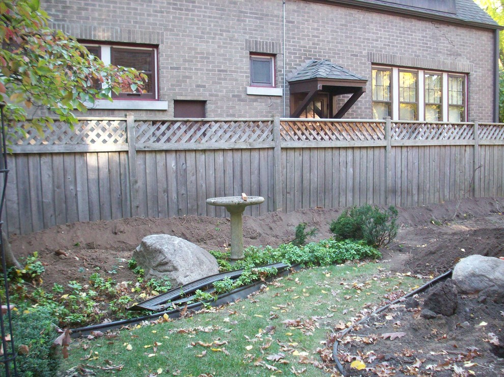 Traditional Landscape Makeover - Whitefish Bay