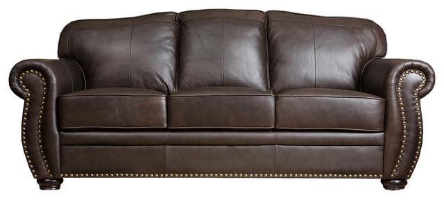 Abbyson Living Palazzo Leather Sofa