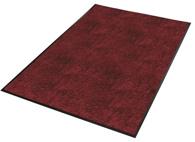 Guardian Platinum Series Indoor Wiper Floor Mat, 2u0027x5u0027, Burgundy  Transitional