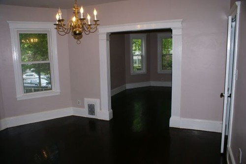 What color rugs go best with dark hardwood floors