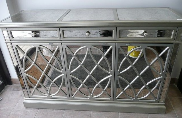 Rosalyn Mirrored Buffet / Sideboard - Contemporary - Buffets And ...