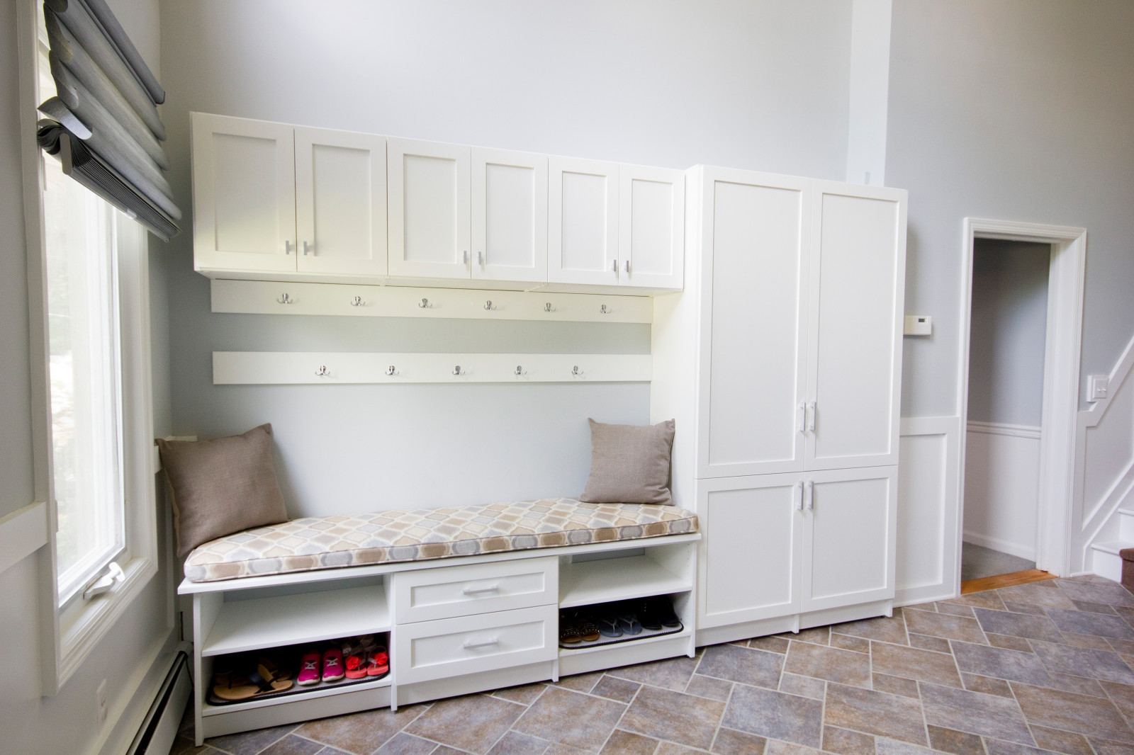 Multifunction Mudroom