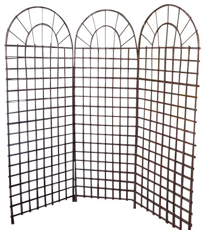 Willow Screen, 3 Panel Divider, ...