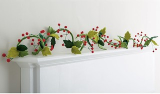 Felt Christmas Garland - Contemporary - Wreaths And ...
