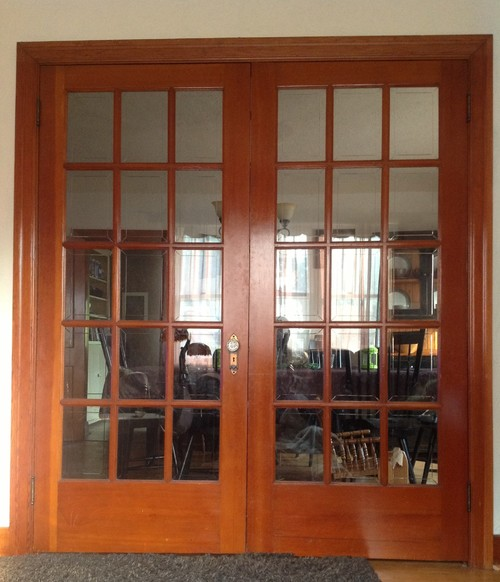 We would really like to keep our doors and trim and could use some ideas on how to go about refinishing them. & Refinishing old trim and doors on 1920\u0027s era house