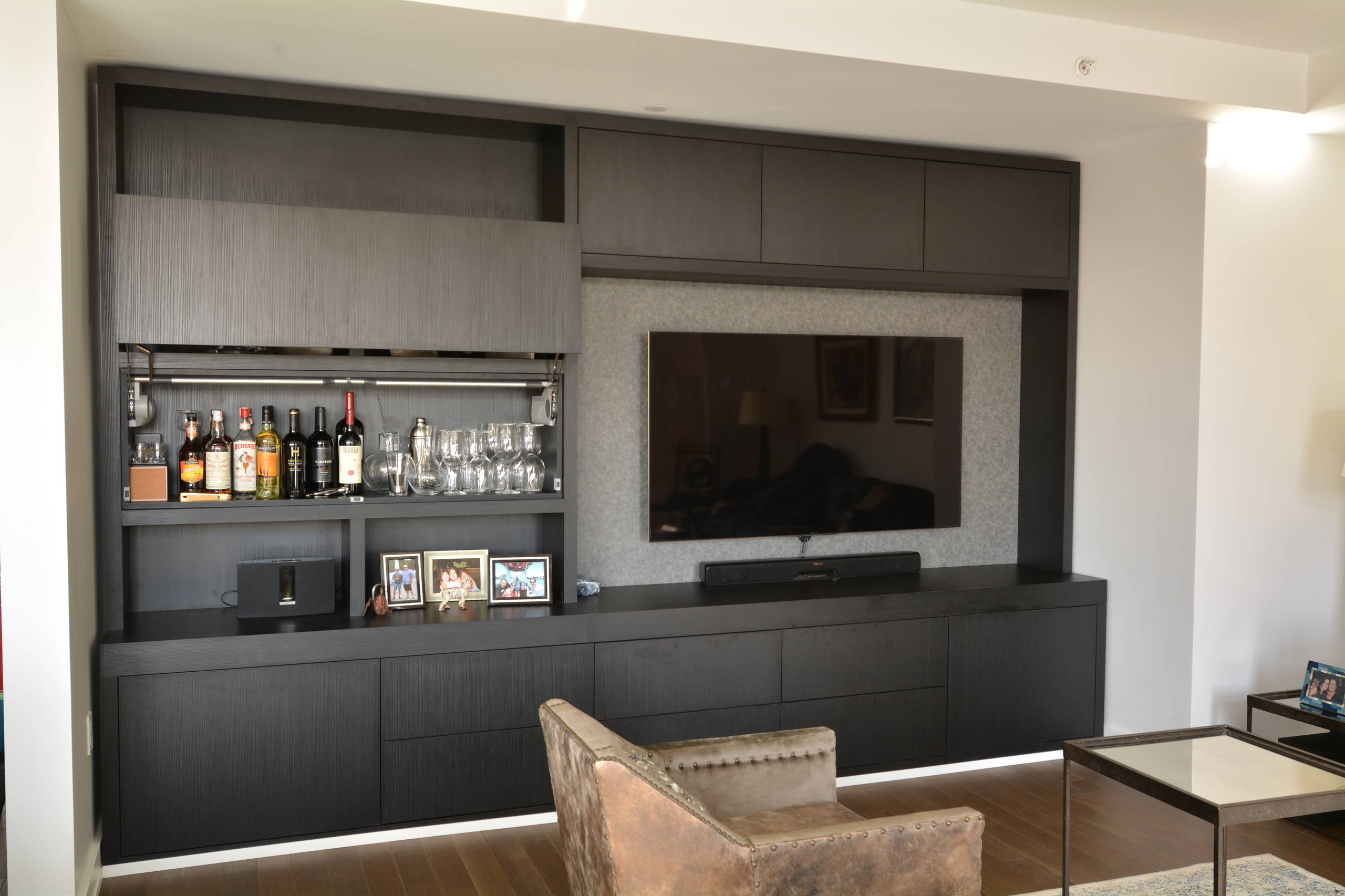 TV unit in NYC