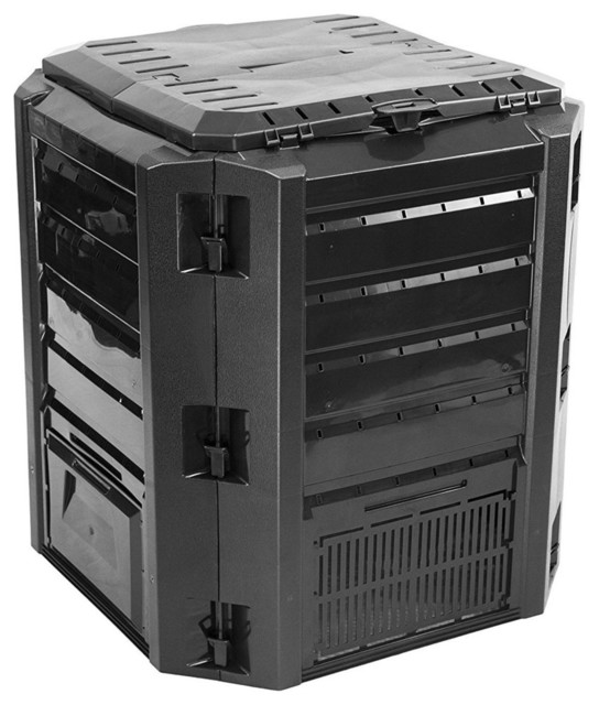 black composter 100gallon compost bin for home composting compostbins