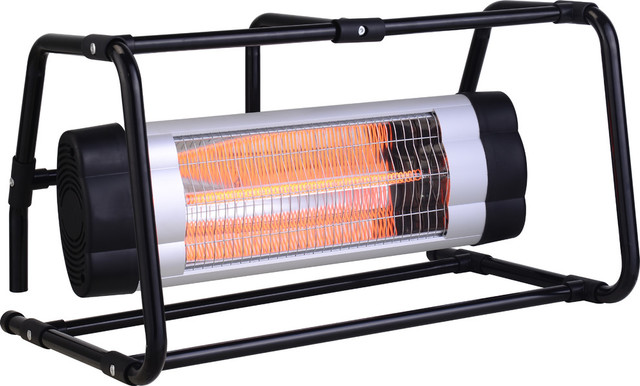Ground Cage Electric Heater.