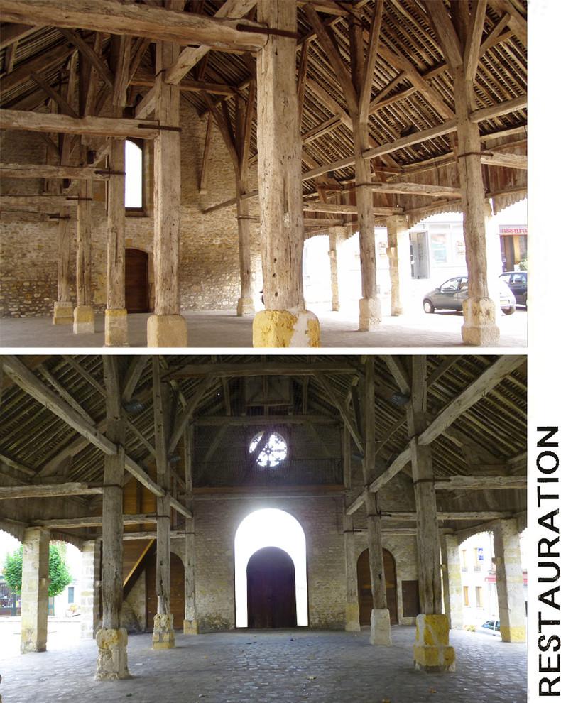Restauration de la Halle royale de Puiseaux