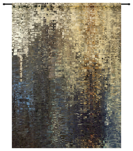 Drops Organic Cotton Tapestry, 145x190 cm