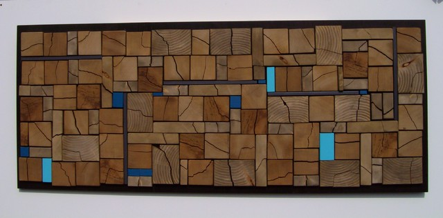 Abstract wood wall art - Modern - Vancouver - by Scape Design