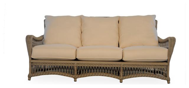 Lloyd flanders fairhope sofa farmhouse sofas by for Sectional sofa farmhouse