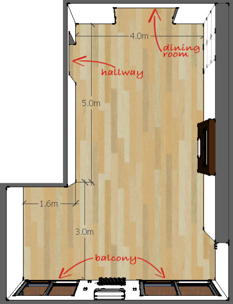 Layout advice for Lshaped living room