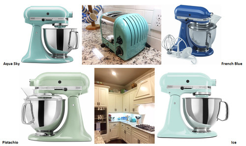 Please humor me again KitchenAid mixer colors
