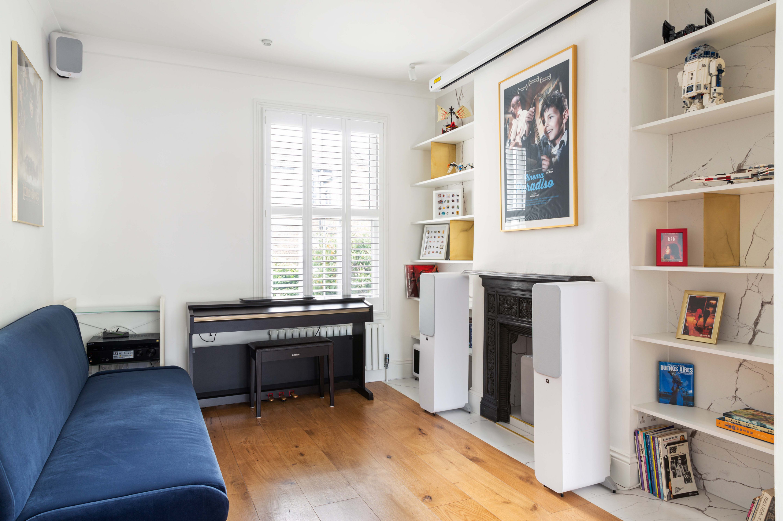 Single family house in West London.