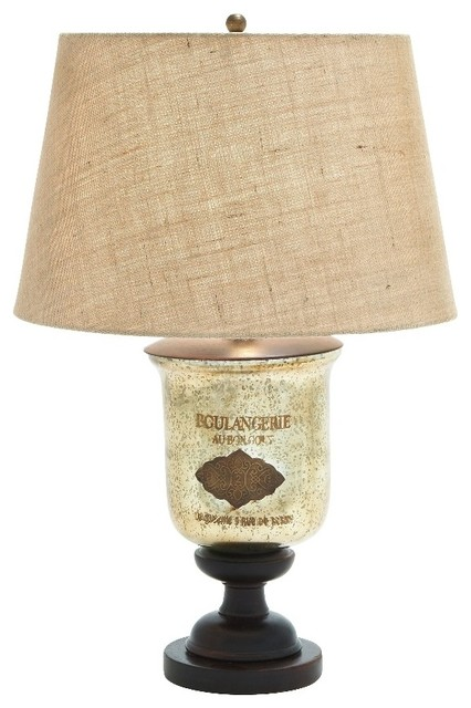french motif gold glass table lamp wood beige mat home decor 27964 table lamps by gwg outlet. Black Bedroom Furniture Sets. Home Design Ideas