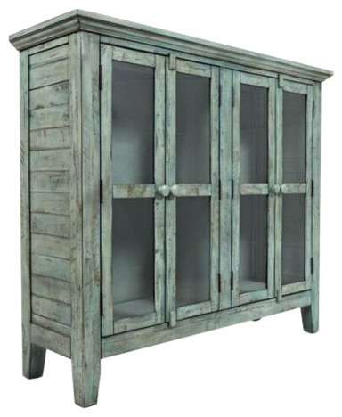 "Rustic Shores Surfside 48"" Accent Cabinet."