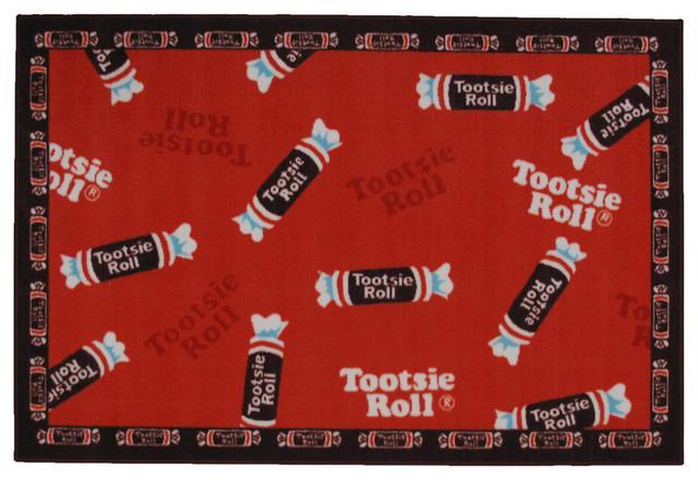 "LA Rug Tootsie Roll Pop 39/""x58/"""