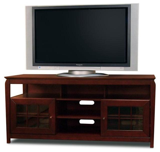 "Tech-Craft Veneto 60"" Hi-Boy Wood LCD/Plasma TV Stand - Transitional - Entertainment Centers And ..."