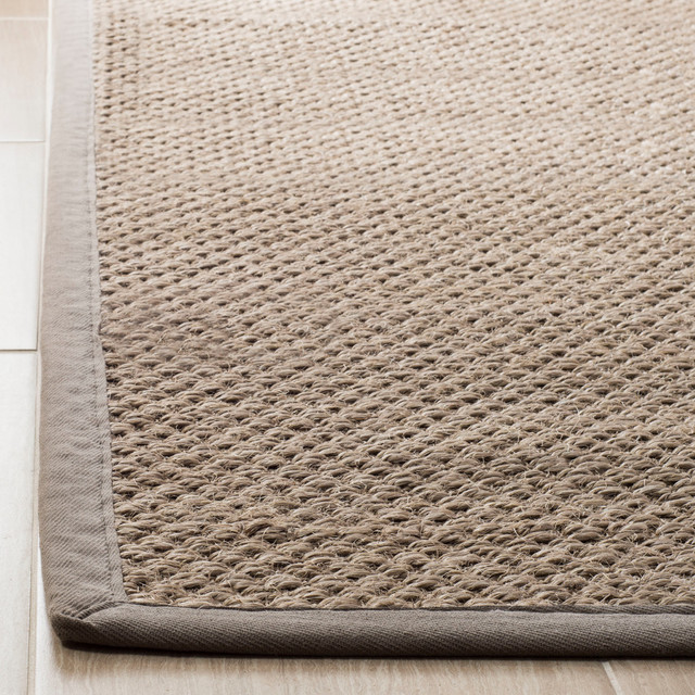 Studio Seven Woven Area Rug, NF153A, Natural/Grey,  3' X 5' by Studio Seven