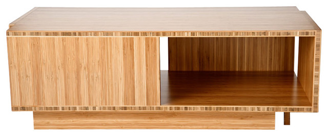 bamboo modern furniture. compact coffee table in bamboo moderncoffeetables modern furniture