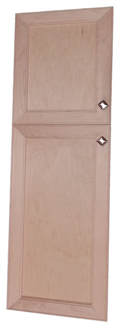 Village Sq Recessed 2-Door Frameless 18/30 Pantry Cabinet, 3.5x51.