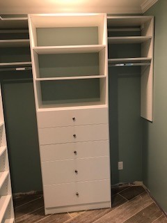 Master Closet and Pantry in Tryon, NC