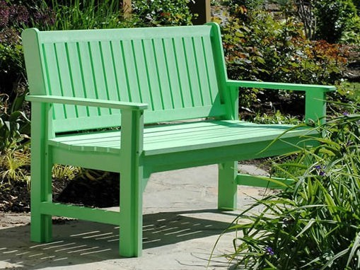 Delightful CRP Plastics Garden Bench Patio Furniture And Outdoor Furniture