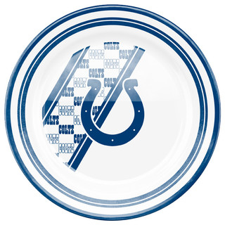 Indianapolis Colts Dinner Plate - Contemporary - Dinner ...