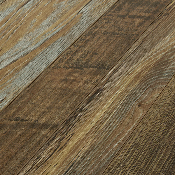 Armstrong Architectural Remnants Original Dark 12 Mm Laminate Flooring Sample