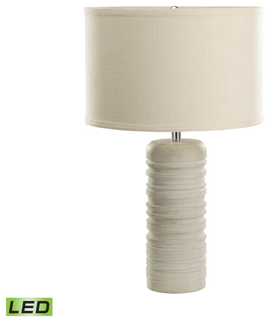 23quot Transitional Sand Stone Ribbed Round Table Lamp  : transitional table lamps from www.houzz.com size 536 x 640 jpeg 33kB