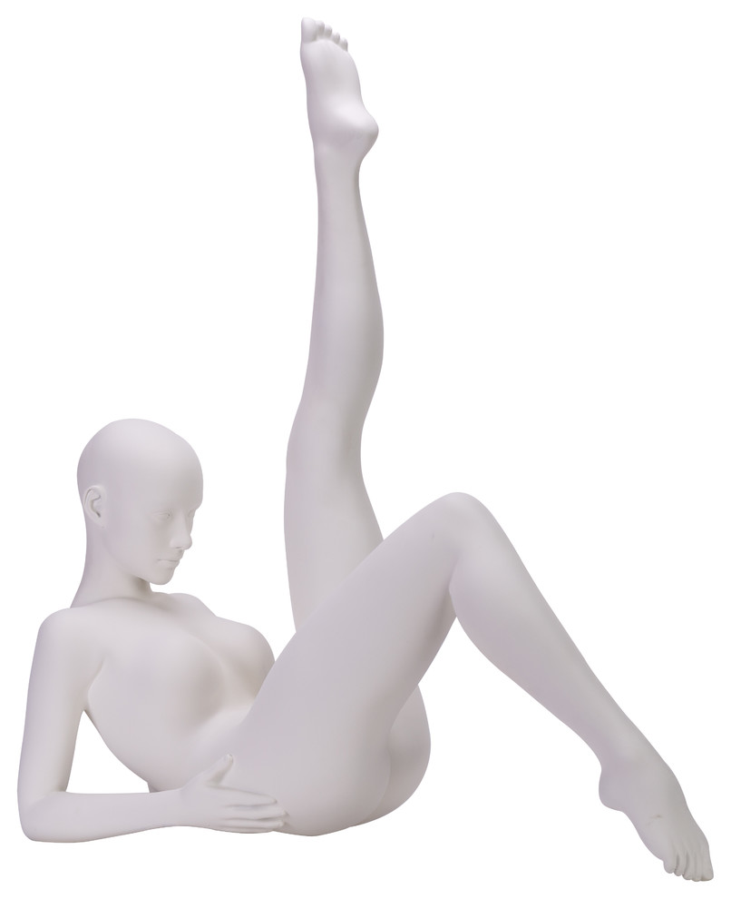 Finesse Decor Emma Doll White Large