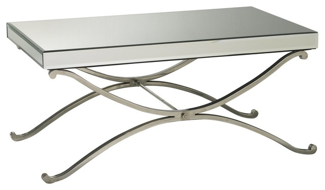 Cyan Design Vogue Mirror Coffee Table Chrome