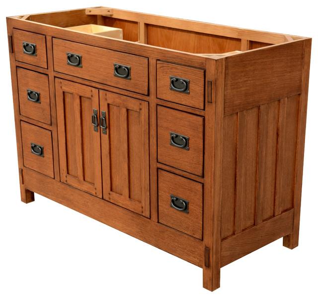 American Craftsmen Vanity 48 Craftsman Bathroom Vanities And Sink Consoles By Sagehill Designs Houzz