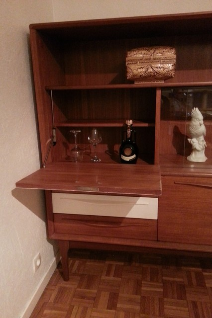 Buffet enfilade en teck vintage eclectic home bar other by la rabota - Buffet enfilade vintage ...
