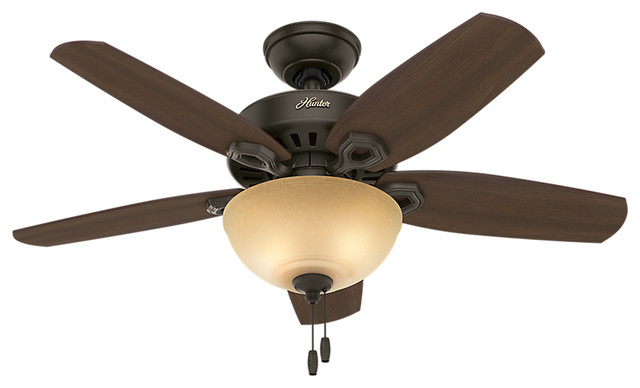 Builder Small Room 42 Ceiling Fan With Light New Bronze