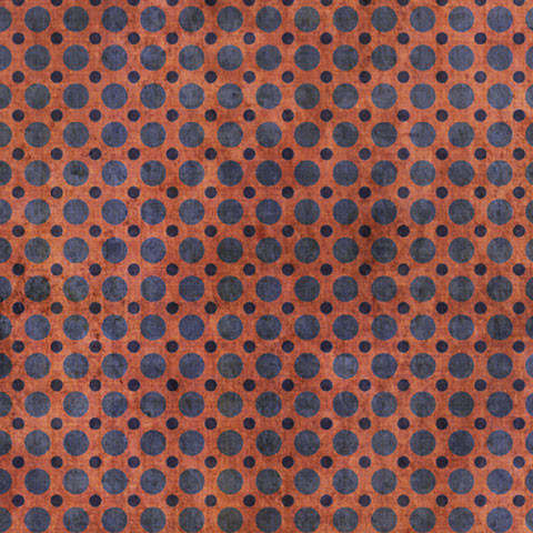 Red And Blue Weathered Polka Dot, 120x24, Fine Weave Fabric.