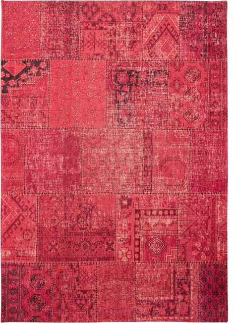 Khayma Farrago Mirage Red Area Rug, 170x240 cm