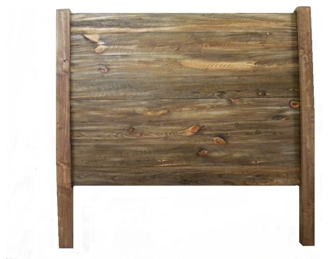Headboard Rustic Bedroom Furniture Oak Twin