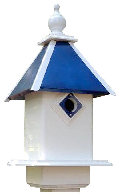 A Wing And A Prayer Team Colors Bird House Black And Gold