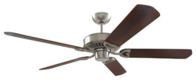 "Vento Ceiling Fan, Brushed Nickel, 60""."