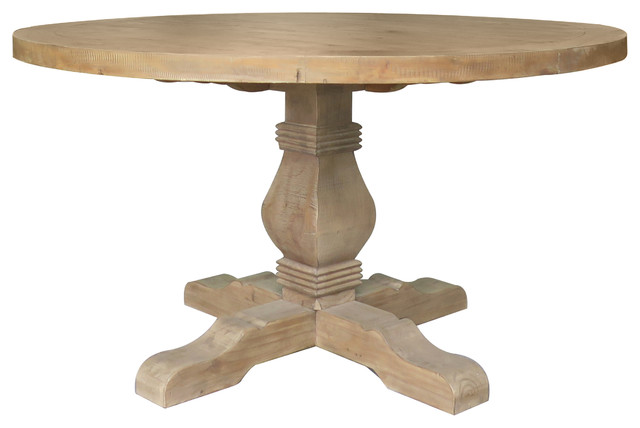 Quincy Round Dining Table Desert Farmhouse Dining Tables By