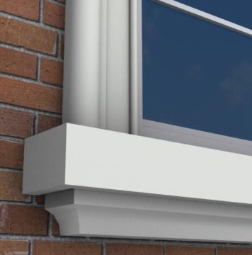 MX208   Exterior Window Sills molding and trimMX208   Exterior Window Sills. Exterior Window Molding. Home Design Ideas