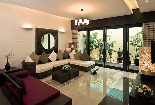 Living room for Page 3 salon coimbatore