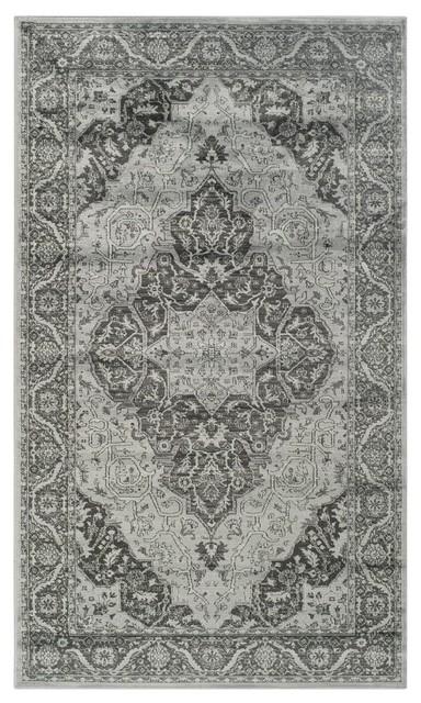 Charlotte Vintage-Inspired Area Rug, 120x170 cm