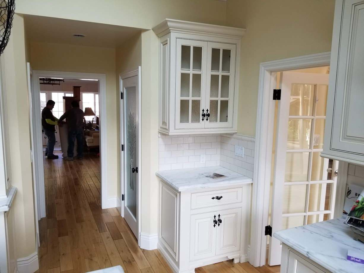 Filippi remodel to match existing kitchen and family room.