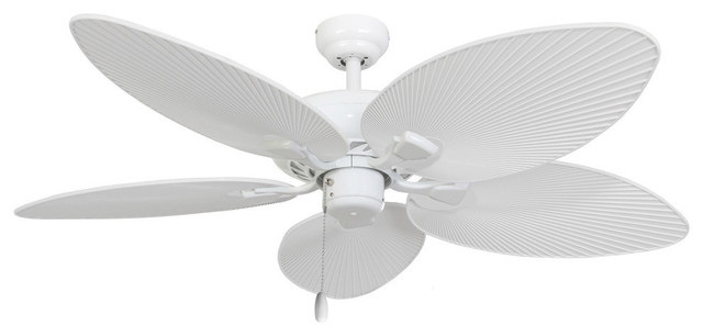 52 Boca Grande White Indoor Ceiling Fan With Remote