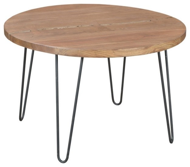 Rustic Modern Kitchen Table: Rustic Round Dining Table