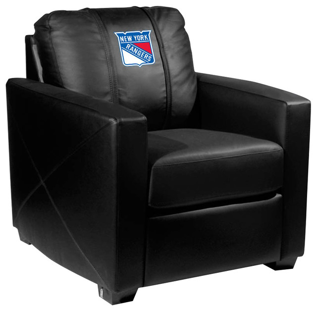 New York Rangers Nhl Silver Chair Contemporary Armchairs And Accent Chairs By Dreamseats Llc